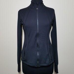 Reflex Define Black Athletic Zip Stetch Jacket Sm